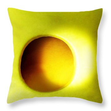 Stellar Corona Throw Pillow by Amar Sheow