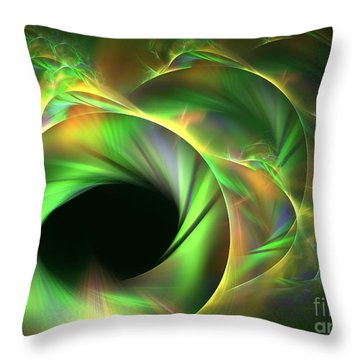 Stellar-wind Bubble Throw Pillow by Kim Sy Ok