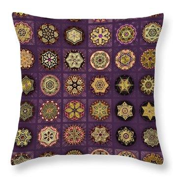 Stellars One Dingbat Quilt Throw Pillow