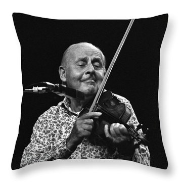 Stephane Grappelli   Throw Pillow