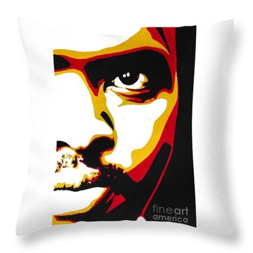 Stephen Bantu Biko Throw Pillow