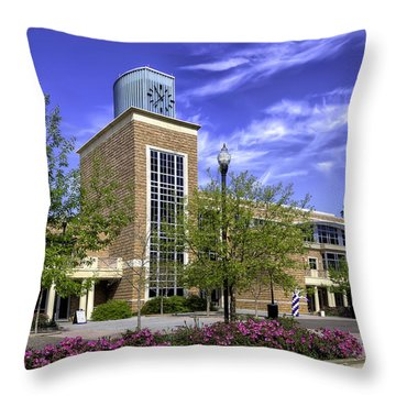 Stephen F. Austin State University Throw Pillow