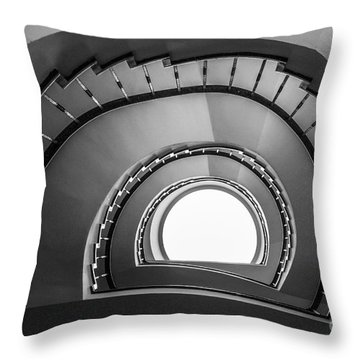 steppin up II Throw Pillow by Hannes Cmarits