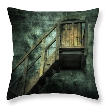 Stepping Into Mystery Throw Pillow by Svetlana Sewell
