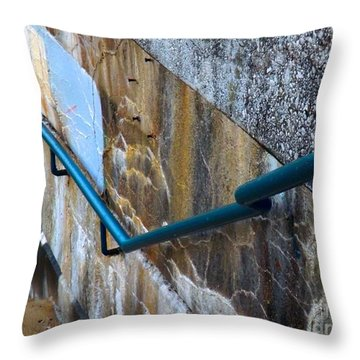 Stepping Outside The Lines Throw Pillow