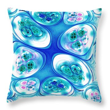 Stepping Stones Throw Pillow by Anastasiya Malakhova
