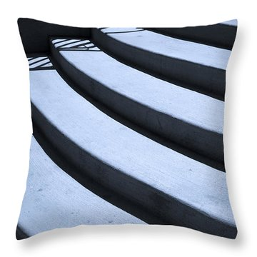 Steps Throw Pillow by Madeline Ellis