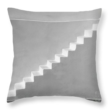 Throw Pillow featuring the photograph Steps To Heaven by Ana Maria Edulescu