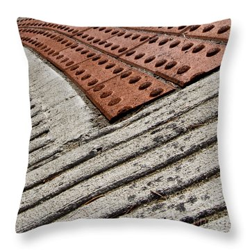Stepwatch Throw Pillow