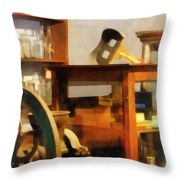 Stereopticon For Sale Throw Pillow by Susan Savad