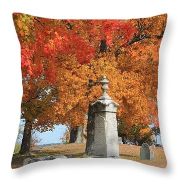 Sterling Ma Burial Ground Throw Pillow