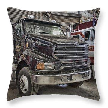 Sterling Truck Throw Pillow by Douglas Barnard