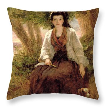 Sternes Maria, From A Sentimental Throw Pillow by William Powell Frith