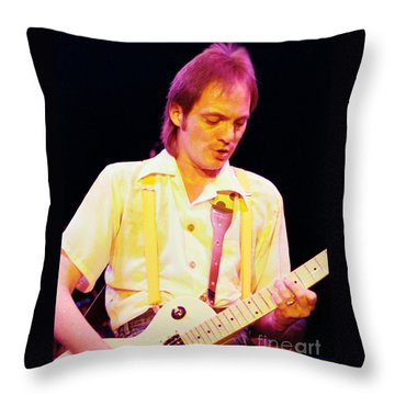 Steve Marriott - Humble Pie At The Cow Palace S F 5-16-80  Throw Pillow