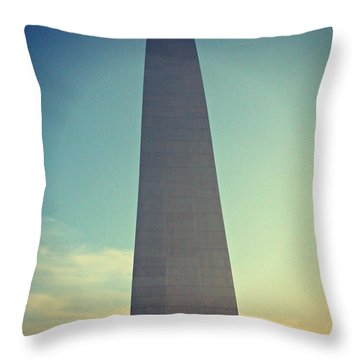 Throw Pillow featuring the photograph Steve Miller Band At Fair St. Louis by Kelly Awad