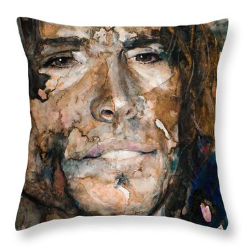 Get Your Wings Throw Pillow by Laur Iduc