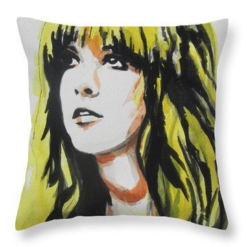 Stevie Nicks 01 Throw Pillow