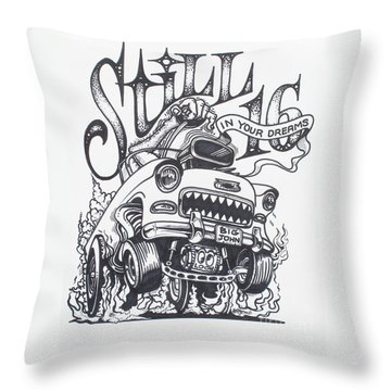Still 16 In Your Mind Throw Pillow
