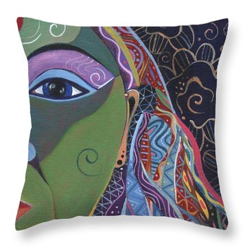 Still A Mystery 5 Throw Pillow