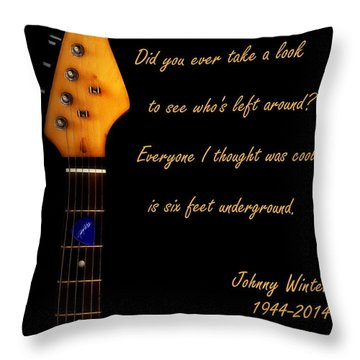 Still Alive And Well Throw Pillow