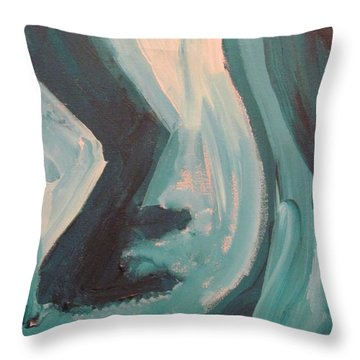 Still Dancing  Throw Pillow