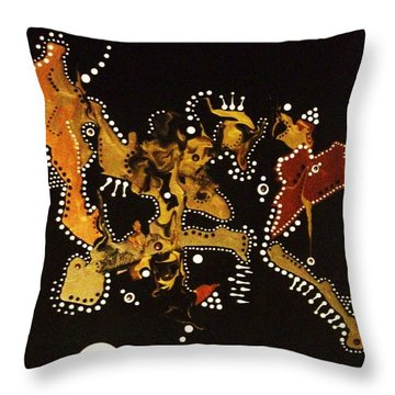 Still Dotty After All These Years Throw Pillow