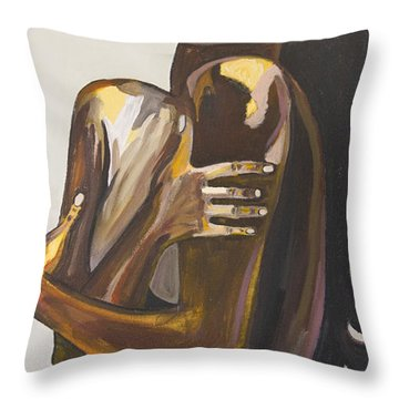 Still In Love With You Throw Pillow