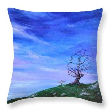 Still Learning Throw Pillow