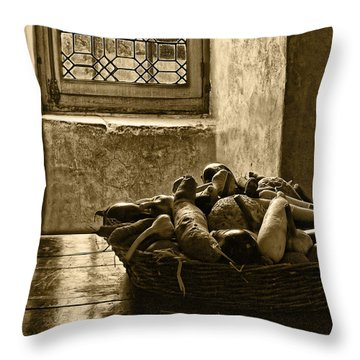 Still Life At Chenonceau Throw Pillow by Nikolyn McDonald