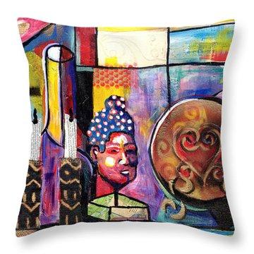 Still Life  / Carols Mantel Throw Pillow