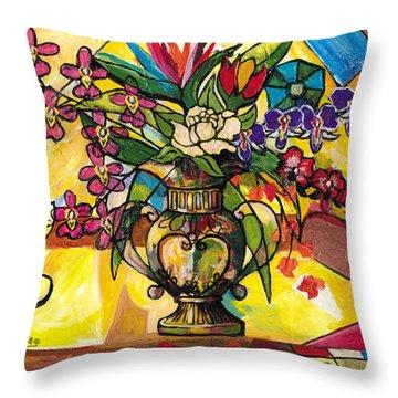 Still Life For Venus Throw Pillow by Everett Spruill