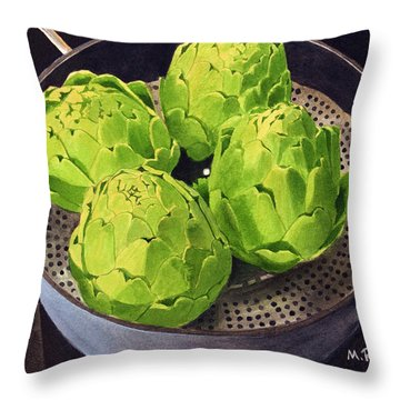 Still Life No. 6 Throw Pillow