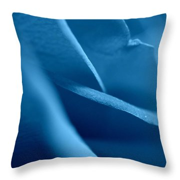 Throw Pillow featuring the photograph Still Petals by Christine Ricker Brandt