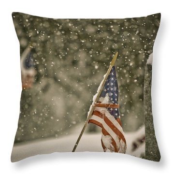 Still Remembered Throw Pillow by Trish Tritz