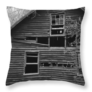 Still Standing Throw Pillow by Carlee Ojeda