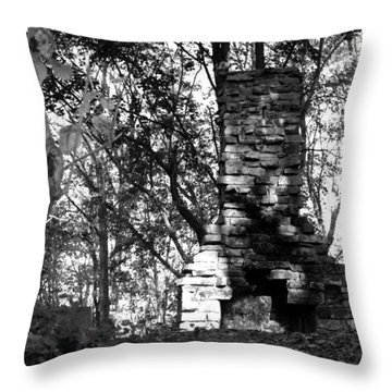 Throw Pillow featuring the photograph Still Standing by Greg Graham