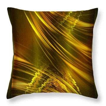 Still Standing No Matter What - Optimistic Art By Giada Rossi Throw Pillow