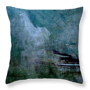 Stillness In The Storm Throw Pillow