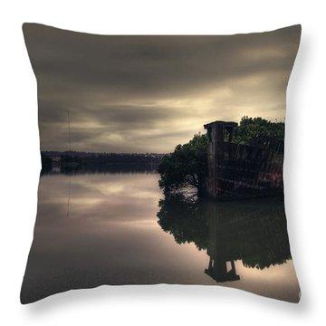 Stillness Speaks Throw Pillow