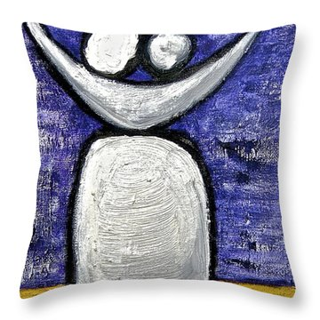 Throw Pillow featuring the painting Stills 10-002 by Mario Perron