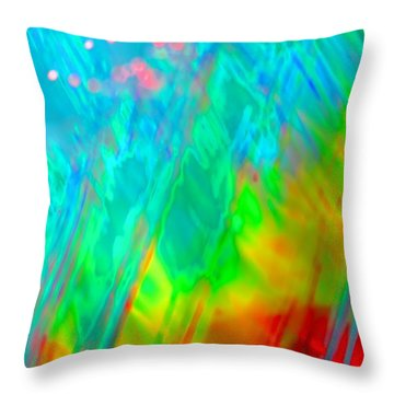Stir It Up Throw Pillow