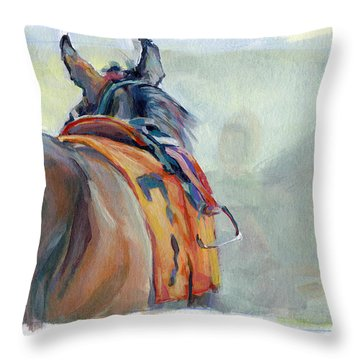 Stirrup Throw Pillow