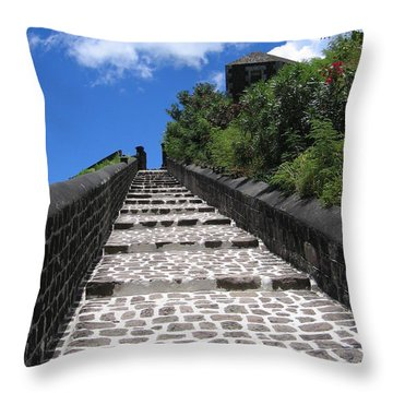 St.kitts - Ascent Throw Pillow
