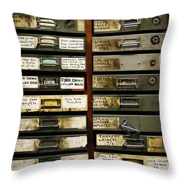 Stock Throw Pillow