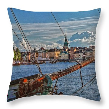 Stockholm Throw Pillow by Hanny Heim