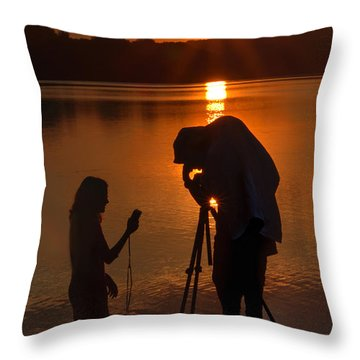 Stolen Moment Throw Pillow