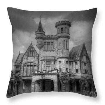 Stollmeyers Castle Trinidad Throw Pillow
