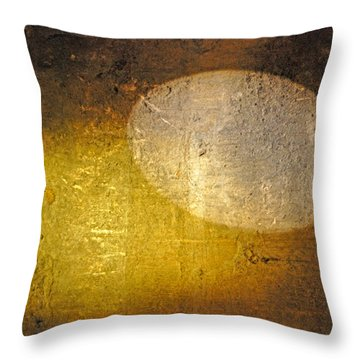 Stone And Light 01 Throw Pillow