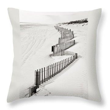 Stone Harbor Throw Pillow by Joseph J Stevens