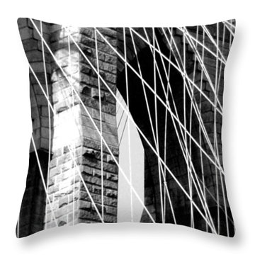 Stone Mortar And Steel Throw Pillow